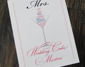 Mr. & Mrs. Signature Drink Signs DIGITAL PRINTABLE FILE