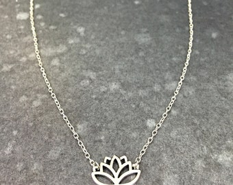 Lovely Lotus Necklace