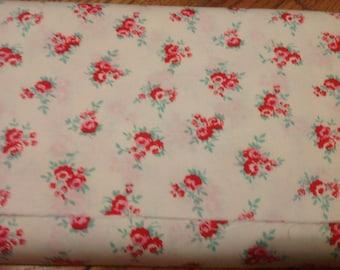 Milk Sugar Flower fabric. C4342 CREAM