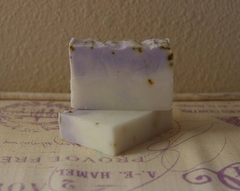 Lavender Scented Shea Butter Soap. Lavender Soap. Homemade Soap. Handmade Soap.