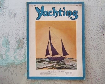Yachting Magazine ~ May, 1942