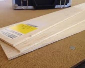 Balsa Wood Backboard