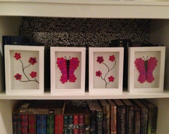 Butterflies and Blossoms Set