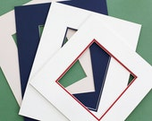 Custom Cut Mat, Custom Mat, for Photos, Art Pieces, 5x7, 8x10, 11x14, custom sizes