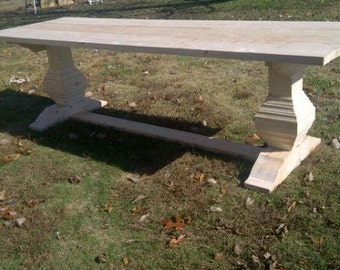 Rustic Farm Style Tables.
