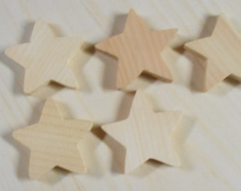 Wood Star Cutouts