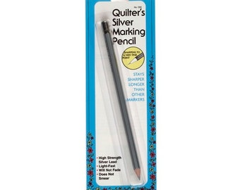 Quilter's Silver Marking Pencil by Collins Item # C83