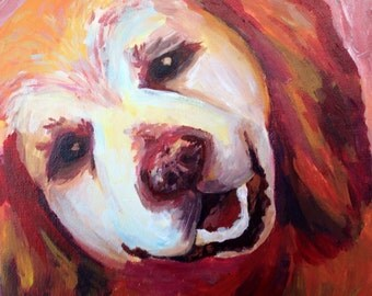 Custom Pet Portrait 50cm x60cm