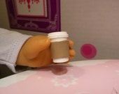 Set of 2 Miniature Coffee or Tea  Take Out/To Go Cup for Your 18 Inch Doll