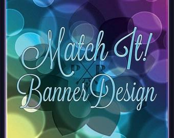 Match It! Add-On Banner Design