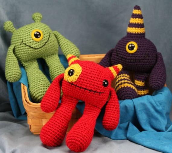 Amigurumi Monsters : Amigurumi Pattern Crochet PDF Amigurumi Bobbly by ...