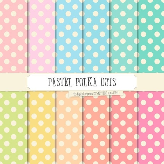 Colorful Dots Pattern Dots Patterns Soft Colors