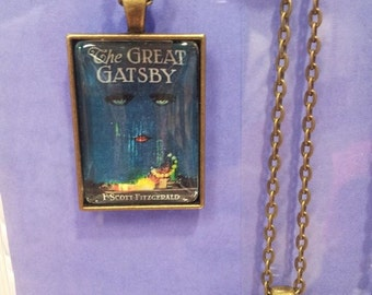 Great Gatsby Book Pendant