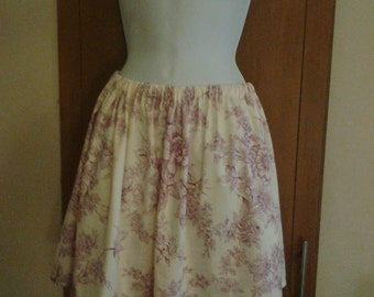 Toile de Juoy skater, mini skirt size 8, 10, 12 s-m  summeer/hols french chic