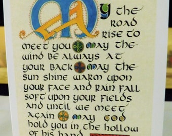 Irish Blessing Notecard
