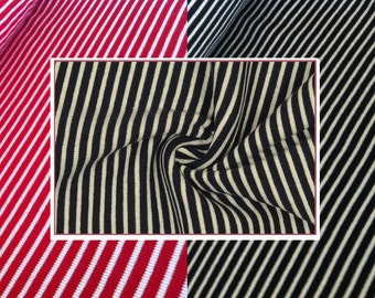 ribbings striped - various colors