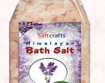 Himalayan Bath Salt in different scents