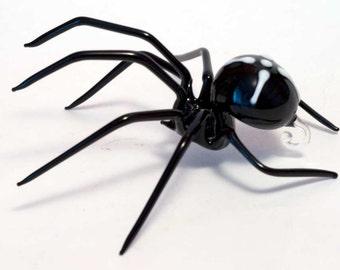 Glass Hand-Blown Glass Spider Collectible  Figurine