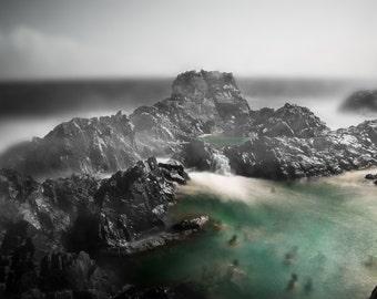 Fine Art Photography, Natural Pool in Aruba - Aruba - Fine Art Photography - Landscape Photography - Ocean - Arikok - Nature Photography