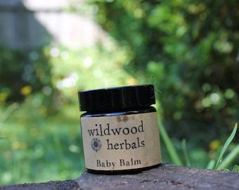 Baby Balm - Herbal Salve for Nappy/Diaper rash. Organic & Vegan.