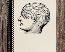 Phrenology Head Journal - Phrenology Notebook - Mind Science - 19th Century Science