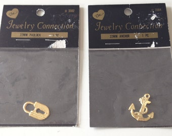 The Jewelry Connection Plated Gold Charm