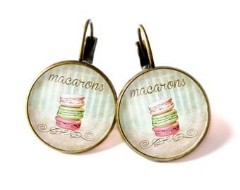 Macaroons earrings