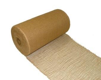 "18"" / 45.7cm Loose Scrim Ribbon Hessian Fabric For Craft Plant & Shrub Garden Farmers Market"