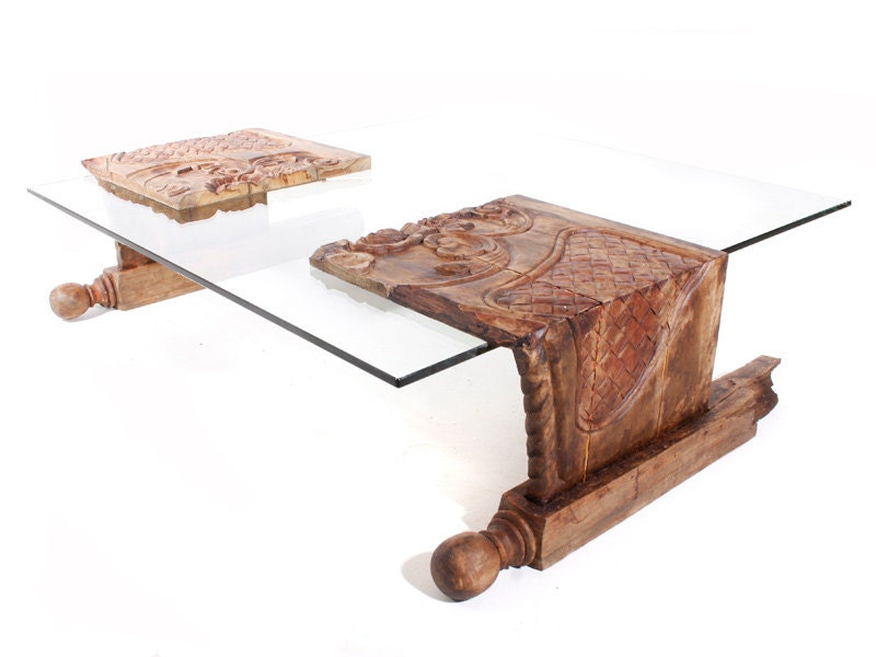 Grace Coffee Table - made out of a old broken bed frame from ...