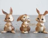 Josef Originals Bunny Rabbit Trio