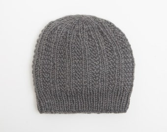 Ribbed Slouchy Beanie