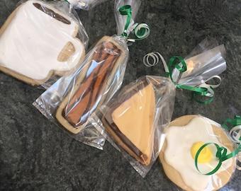 Brunch themed cookies!