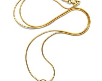 14k Yellow Gold Round Diamond Pendant