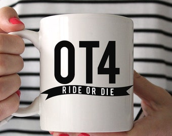 OT4 Ride or Die One Direction Mug
