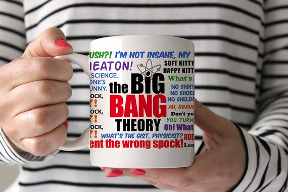 Coffee Mug Big Bang Theory Quotes Mug