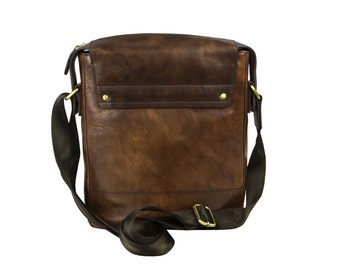 Mens Messenger Bag, Leather bag for men - Song of Solomon