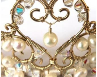 Wire Wrapping Tiara TUTORIAL