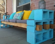Chic Outdoor Bench DIY Plans