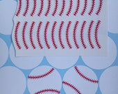 baseball stickers, sports theme party, baseball Decals,  birthday cup stickers, gift bags stickers