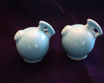 Red Wing  Ball Salt & Pepper Shakers