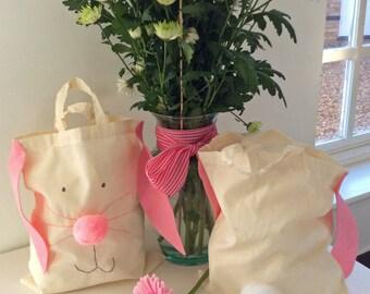 Kids novelty/Easter/rabbit Canvas bag