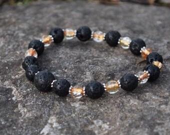 Essential Oil Jewelry - Amber Glow