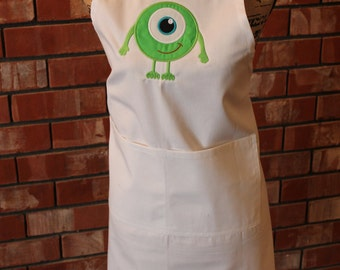 Fairy Tale One Eyed Monster Apron
