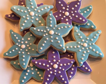 Starfish Sugar Cookie