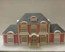 My Pretty Dollhouse, 1994 Doll House, Little People House, Pink Doll House