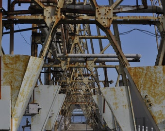 Shipyard, crane, industrial photo,