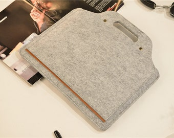 "Hanger Felt Macbook Pro Sleeve 15 , 2016 15"" Macbook pro , Macbook Pro 15 Retina Case ,  Laptop Case 15.6 , 15 Laptop Sleeve #202"