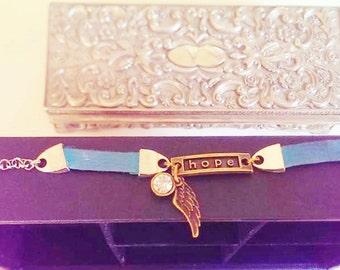 Spring Hannah's Hope Bracelet - Turquoise
