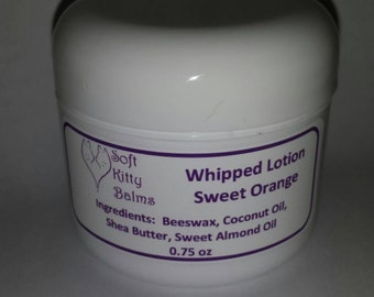 Whipped Lotion Made from Scratch