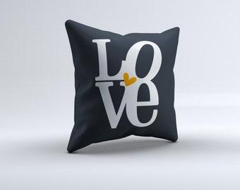 love throw pillow, pillow, throw pillow,  home pillow, pillow, 16x16, 18x18, 20x20,14x14, home decor
